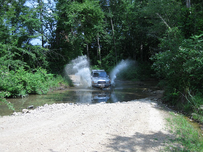 Off-roading in Alabama