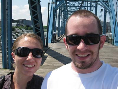 Pedestrian bridge in Chattanooga