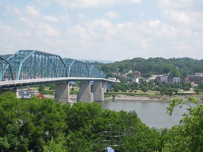 Pedestrian bridge: Chattanooga