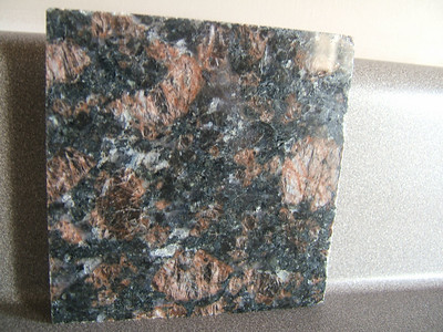 Granite to be put on kitchen countertops.