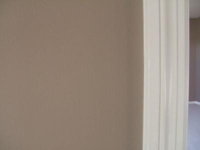 Existing paint/trim color in kitchen/den/parlor/halls.