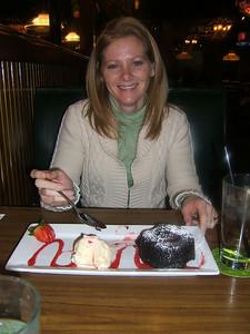 Dessert number 1. Molten lava cake. Mmmmmm.