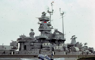 Battleship USS ALABAMA BB-60