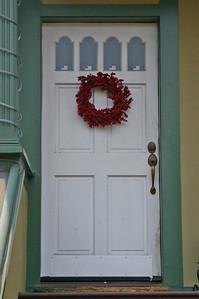 Another neighborhood door