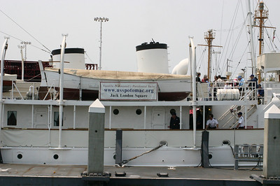 The Potomac was Franklin Roosevelt's presidential yacht.