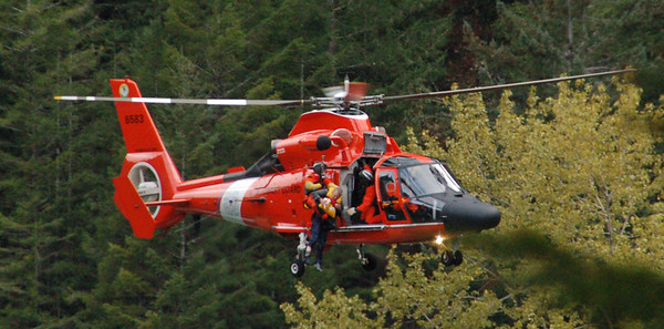 Rescue at Smith River, California