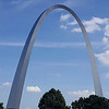 Gateway Arch in St. Louis.  Did not see a state line sign but I guess this means I had crossed out of Illinois into Missouri.