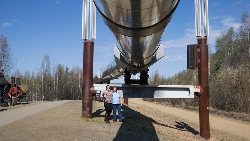 Pipeline near Faribanks