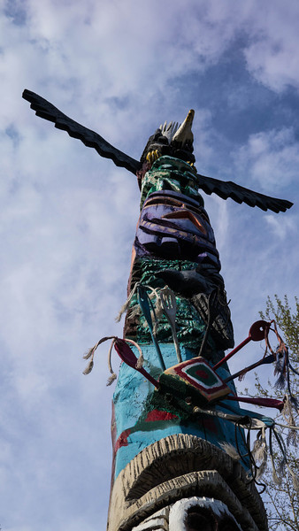 Fairbanks totem