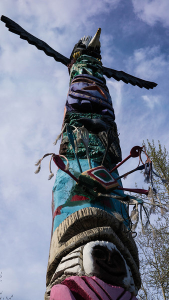 Fairbanks totem 3