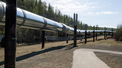 Pipeline near Faribanks