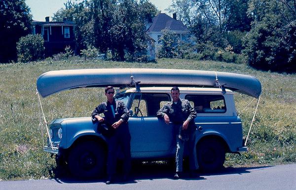 June 7, 1968 Adams & Cassell depart Bedford, VA bound for Alaska.