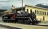 Old #73 Steam Engine. White Pass & Yukon Railroad.
