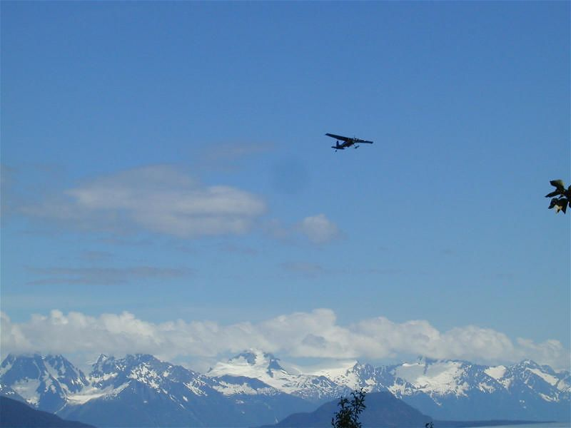 Plane over Haines