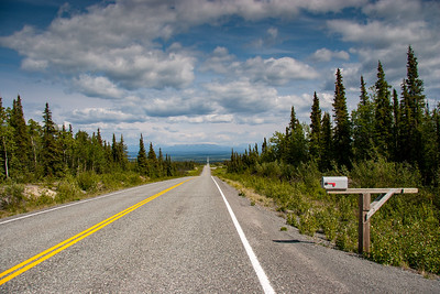 The road to Chitina