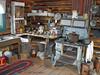 Delta Jct Museum - Roadhouse kitchen circa 1920.