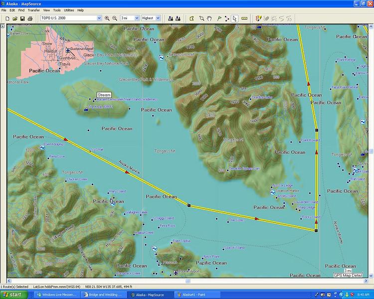 Lynn Canal to Icy Strait