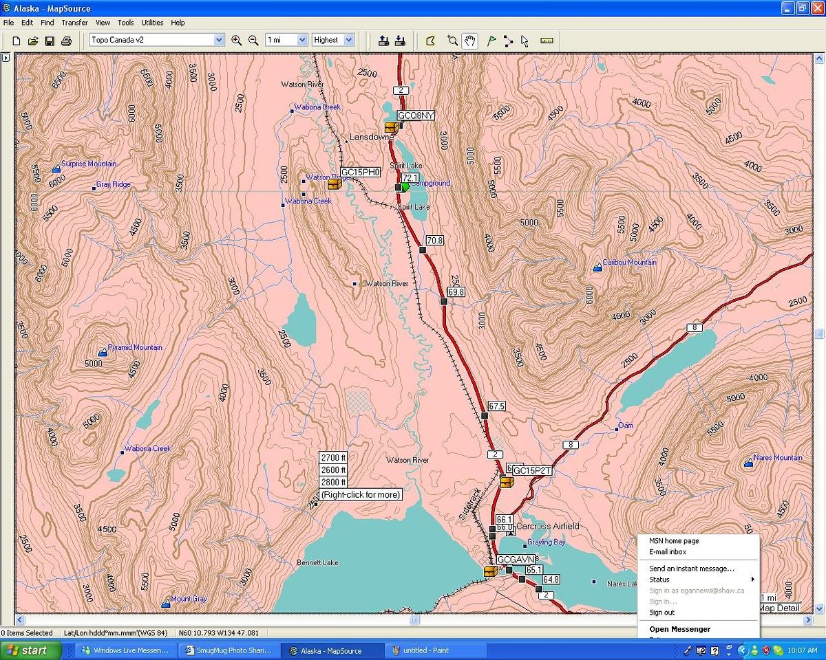 Path to the Yukon - Carcross / Emerald Lake