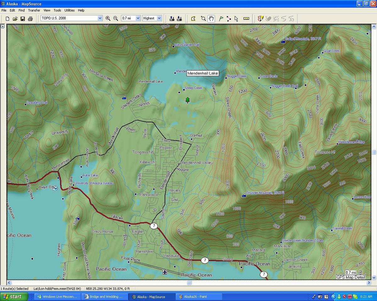 North Juneau Detail