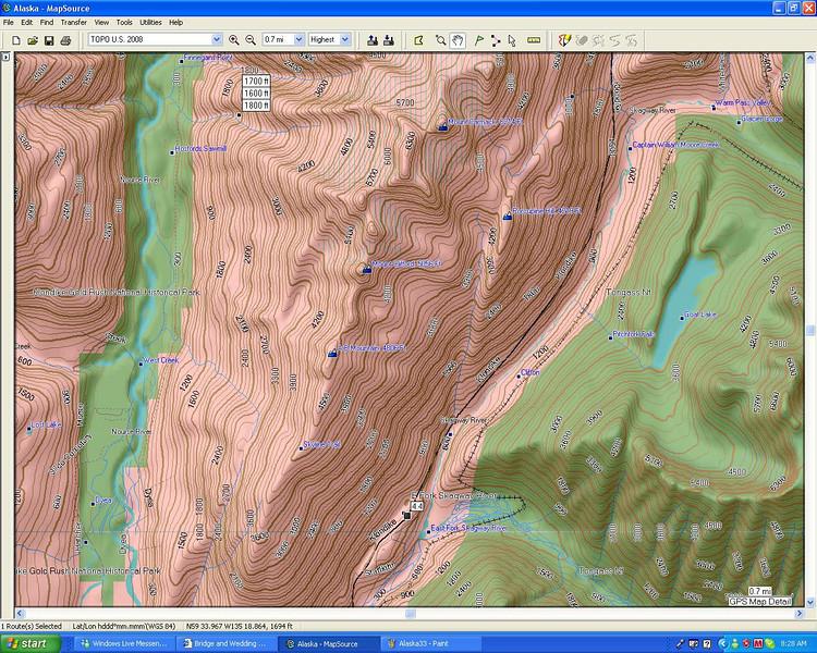 Path to the Yukon US