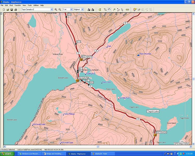 Path to the Yukon YK
