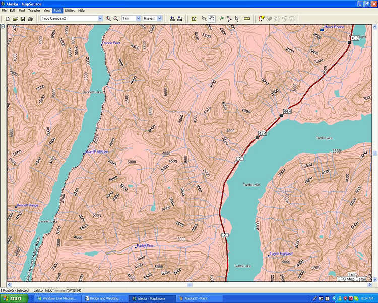 Path to the Yukon BC