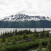 The Turnagain Arm has one of the highest tides in the world (sometimes 40').