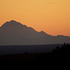 Mt Redoubt at sunset