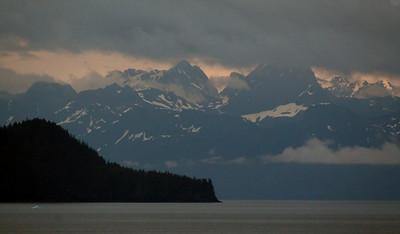 Just outside the Valdez Arm.