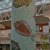 mosaic colums- Lido deck