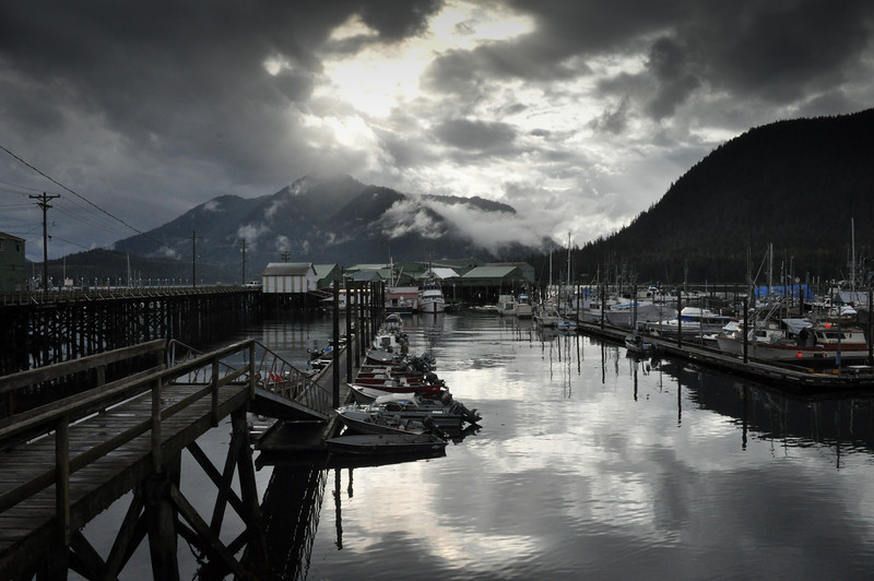 Petersburg Harbor, Alaska