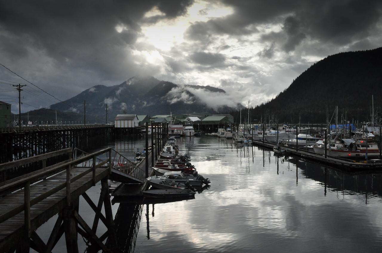 Petersburg Harbor, Alaska