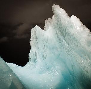 Mother of cocktail ice, Petersburg, Alaska