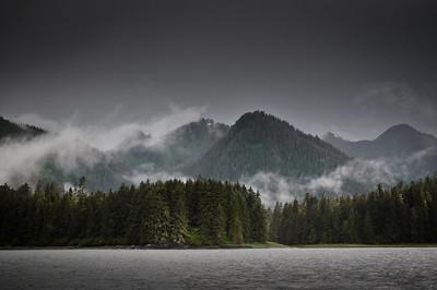 Morning clouds, Petersburg, Alaska