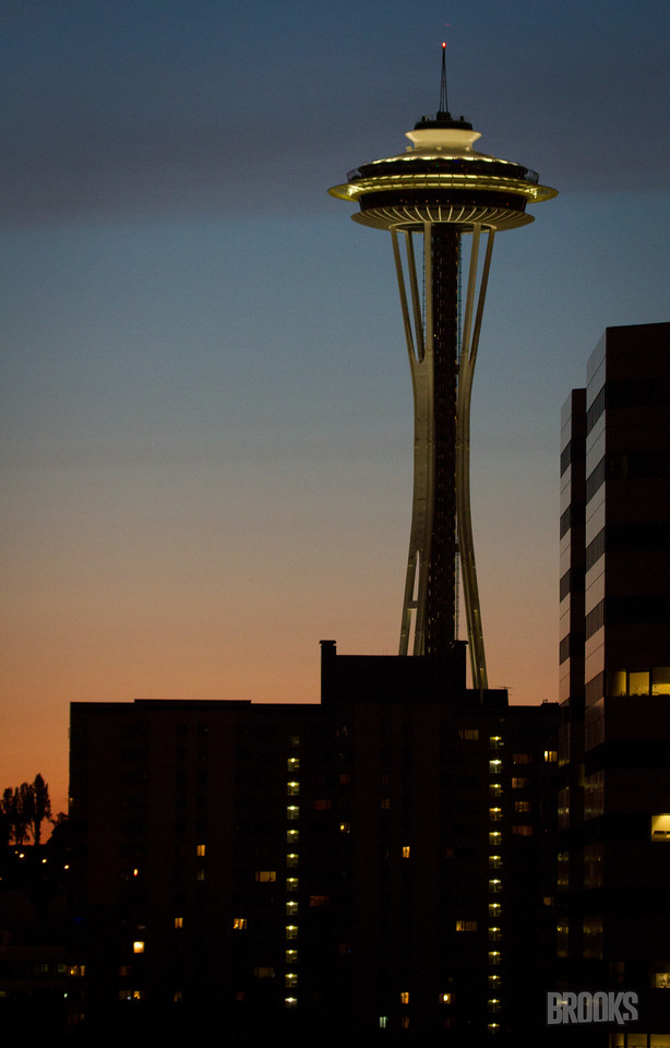 Space Needle at Dusk - Seattle, WA