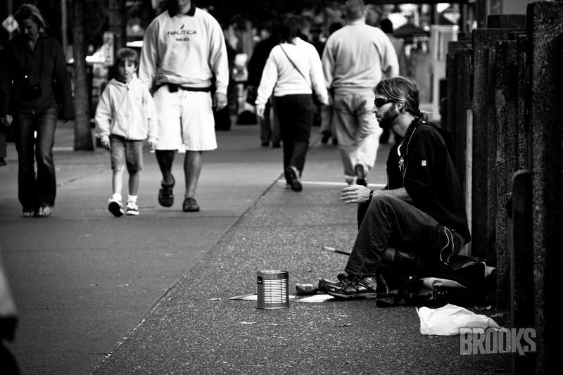 Street Entertainer - Seattle, WA
