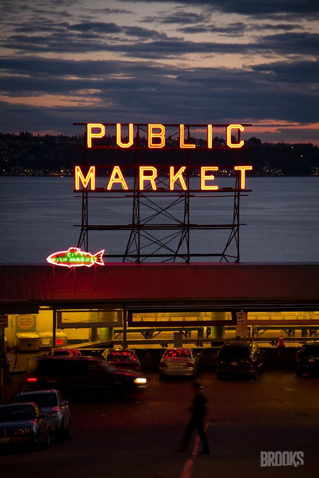 Public Market Center Farmers Market - Seattle, WA