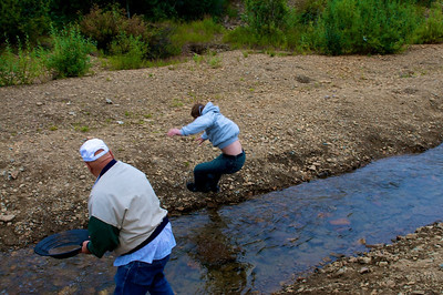 Panning for Gold - Fox, AK