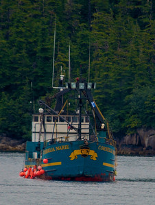 Cornelia Marie from the Deadliest Catch - In Prince William Sound