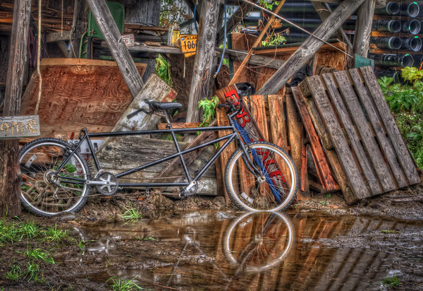 For Sale: tandem Bike for One