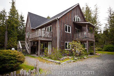 Our bed and breakfast in Tofino, BC