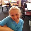 Jessie at lunch