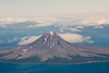Augustine Volcano in the Cook Inlet