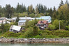 Coming into the remote town of Yakutat.