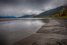 HDR Image of Turnagain Arm on the way to Anchorage. We had hoped to see the bore tide but nto the right timing.