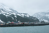 Coming into Whittier (between Seward and Valdez on Prince William Sound).