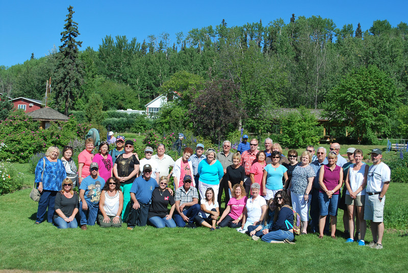 Our Alaskan traveling group with Allen Sears and Nervig travel.   An awesome two weeks!