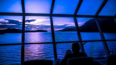 Sunset on Alaska Cruise