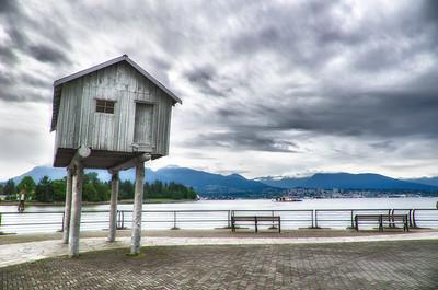 Boat House on Stilts, Vancouver