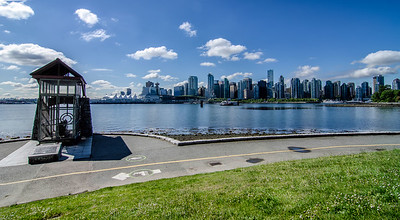 Skyline from Stanley Park